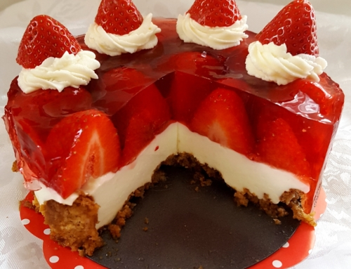 Strawberry cheesecake ;-)