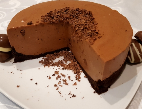 Greek Yogurt Cheesecake Chocolate